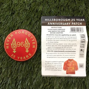 Liverpool 2013 Hillsborough Patch