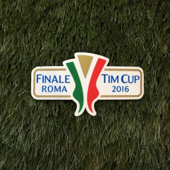 Italiana Tim Coppa Cup 2016 Final Badge AC Milan VS Juventus