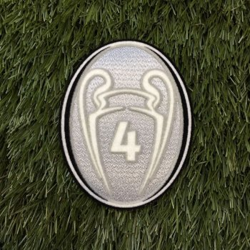 UEFA Champions League Trophy 4 Ver. Badge for Ajax