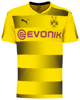 PUMA BVB 17/18 (H) Replica Shirt 751670-01