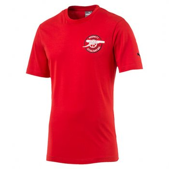 Puma Arsenal 16/17 Graphic Tee Red 750740-01
