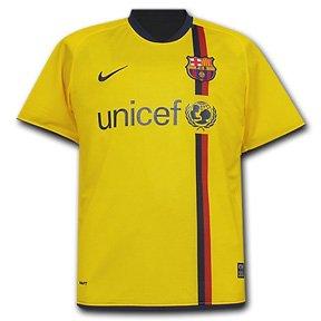 Nike FC Barcelona 08/09 (A) S/S