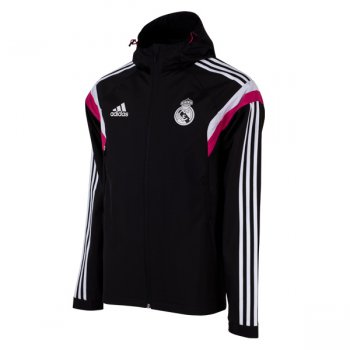 Adidas Real Madrid 14/15 Trav Jacket BK/WHT/PK M37214