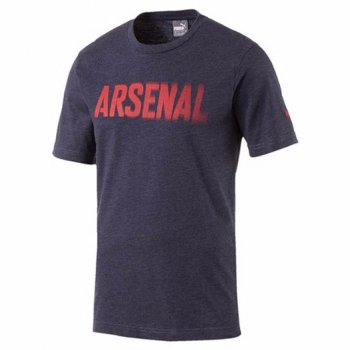 Puma Arsenal 16/17 Fan Tee Peacoat Heather 750742-02