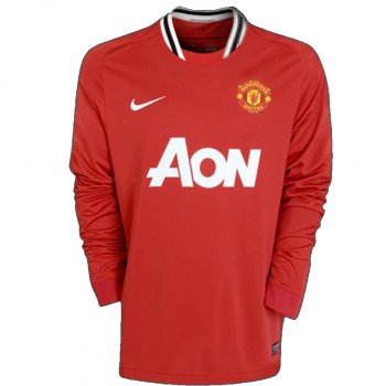 Nike Manchester United 11/12 (H) L/S