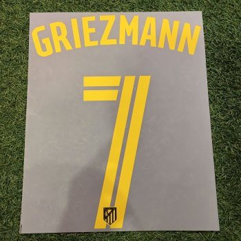 Atletico Madrid 16/17  (A)  Nameset