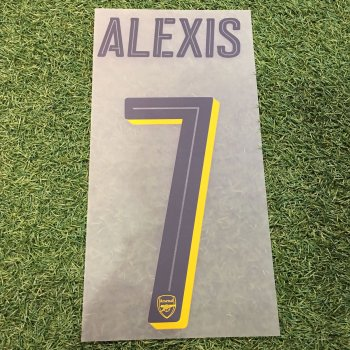 Arsenal 16/17 (A) Nameset