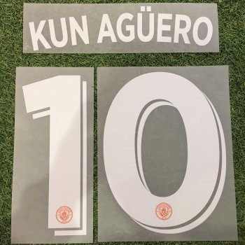 Manchester City 16/17 (3rd) UCL NameSet