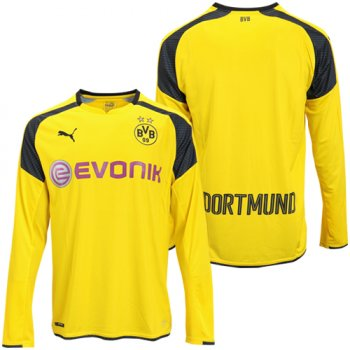 Puma BVB 16/17 International Cup Jersey (H) L/S 749826-11