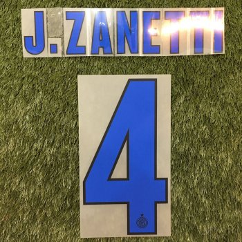 Inter Milan 13/14 (A) Letters and Numbers