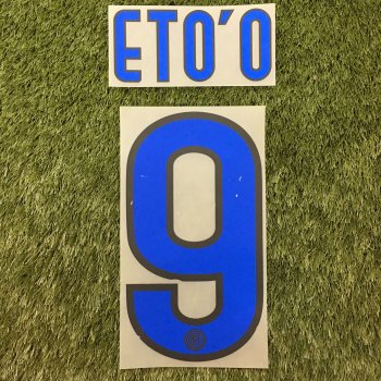 Inter Milan 10/11 (A) Letters and Numbers
