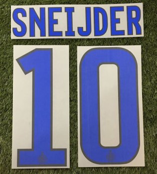 Inter Milan 11/12 (A) Letters and Numbers