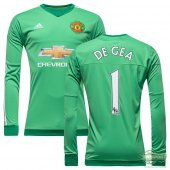 Adidas Manchester United 15/16 (H) GK Shirt L/S AC1458 With EPL Name Print #1 De Gea
