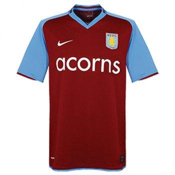 Nike Aston Villa 08/09 (H) S/S