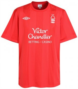 Umbro Nottingham Forest 10/11 (H) S/S