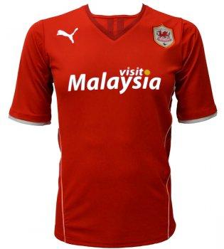 Puma Cardiff City 13/14 (H) S/S