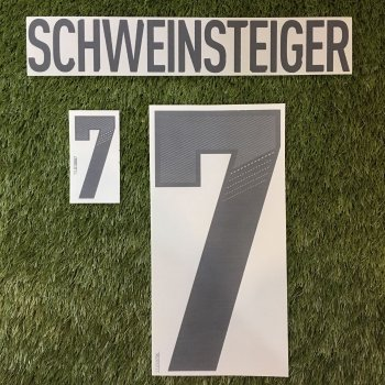 National Team Euro 2012 Germany (H) Letters and Numbers
