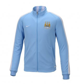 Nike Manchester City 15/16 N98 Authentic Track Jacket BU/WHT 666635-488