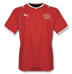 Puma National Team 2008 Switzerland (H) S/S