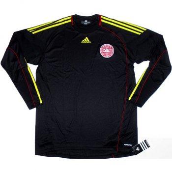 Adidas National Team 2010 Denmark (H) L/S Keeper Shirt