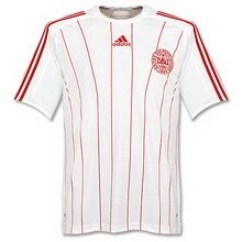 Adidas National Team 2008 Denmark (A) S/S
