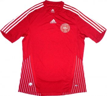 Adidas National Team 2008 Denmark (H) S/S