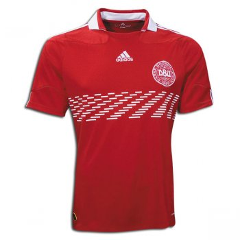 Adidas National Team 2010 Denmark (H) S/S