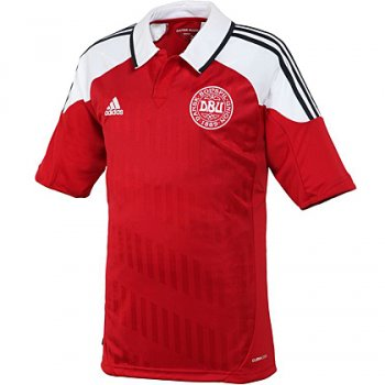 Adidas National Team 2012 Denmark (H) S/S