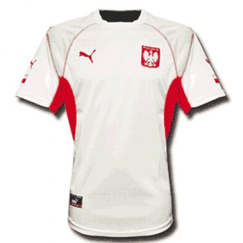 Puma National Team 2002 Poland (H) S/S