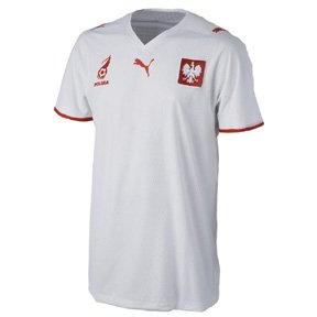 Puma National Team 2008 Poland (H) S/S