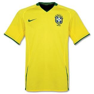 Nike National Team 2008 Brazil (H) S/S