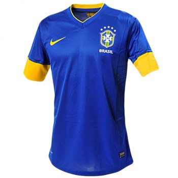 Nike National Team 2012 Brazil (A) S/S Authentic Jersey