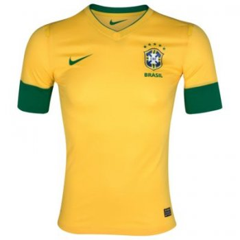 Nike National Team 2012 Brazil (H) S/S Authentic Jersey
