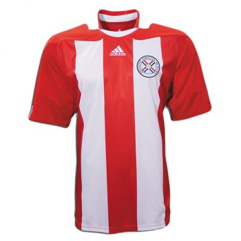 Adidas National Team 2010 Paraguay (H) S/S