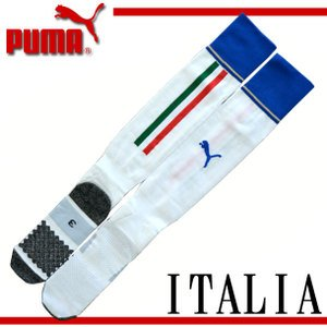 Puma National Team 2015 Italy (A) Socks WHT 747387-02