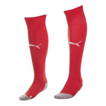 Puma Stutzen King Socks Red-White 701713-01