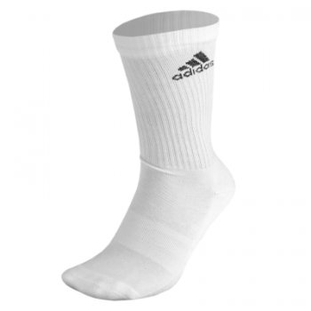Adidas 3S Performance Crew Half Cushioned 1P White AA2300