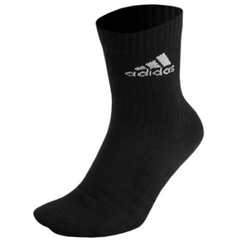 Adidas 3S Performance Crew Half Cushioned  1P Black AA2301