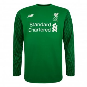 New Balance Liverpool 17 (H) GK L/S Jersey Green MT739000