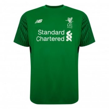 New Balance Liverpool 17 (H) GK S/S Jersey Green MT739002