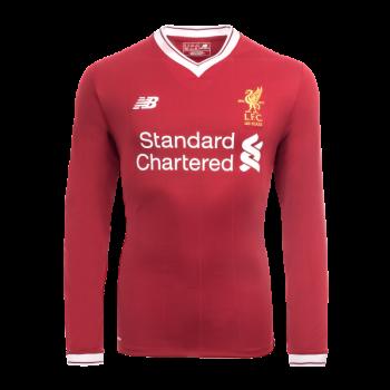New Balance Liverpool 17/18 (H) L/S Jersey MT730008