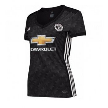 Adidas Manchester United 17/18 (A) S/S Jersey Womens B30966