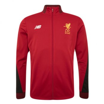 New Balance Liverpool  17/18 Elite Training Presentation Jacket Red MJ730389