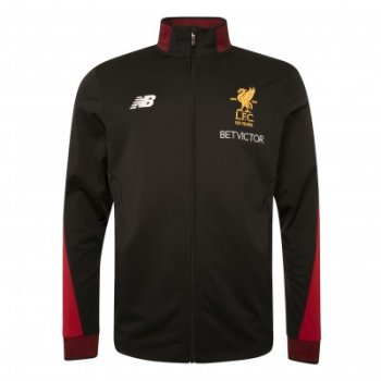 New Balance Liverpool  17 Elite Training Presentation Jacket Black MJ730389