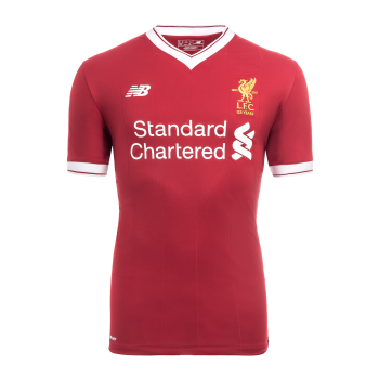 New Balance Liverpool 17/18 (H) S/S Jersey MT730005