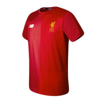 New Balance Liverpool  17/18 Elite Training Pre-match Top Red MT730173