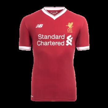 New Balance Liverpool  17/18 (H) Junior S/S Jersey JT730005