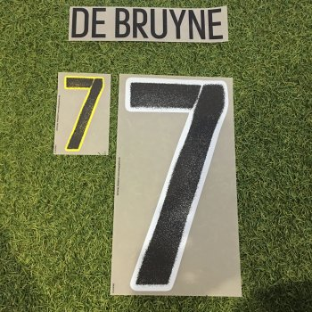 Belgium National Team EURO 2016  (A) Letters and Numbers