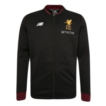 New Balance Liverpool 17/18 Elite Training Walk Out Jacket - Black MJ730211