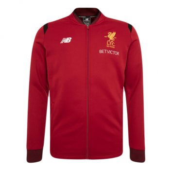 New Balance Liverpool 17/18 Elite Training Walk Out Jacket - Red MJ730211